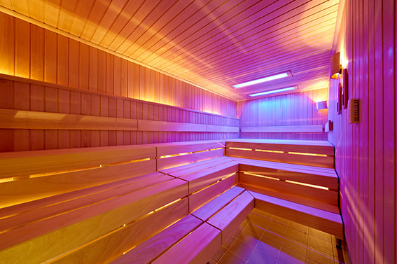 Lentpark Sauna